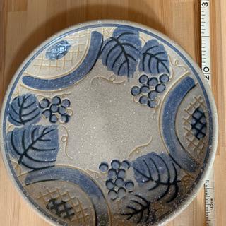 可愛いぶどう柄の大皿