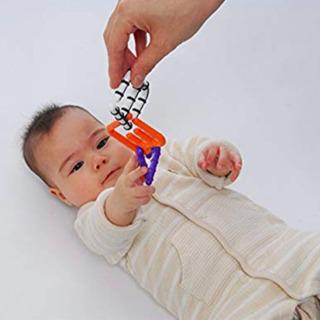 sassy アルファベット チェーンリング 知育玩具
