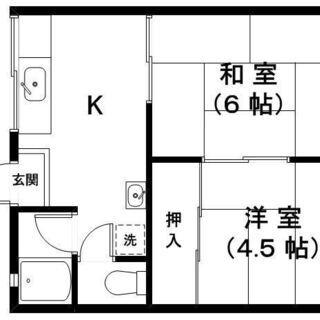 第一廣田シティハイツ 106号室 敷金・礼金なし♪ 保証人不要です♪