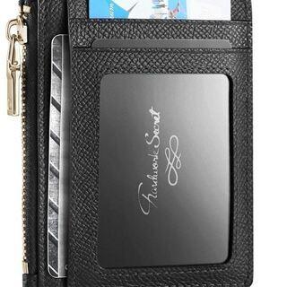 カードケース 小銭入れ RFID ブロッキング 薄型 大容量収納