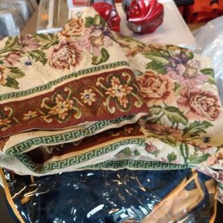 ゴブラン織りソファーカバー一人掛用