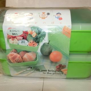 ピクニック・運動会用お弁当箱 『値下げします。』¥1500⇒¥1000