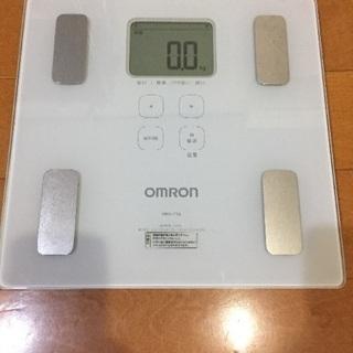 オムロン 体重・体組成計 HBF-214-W