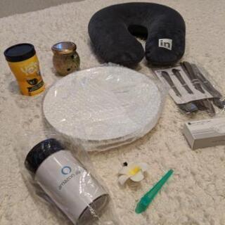 【新品・無料】お皿とカトラリー