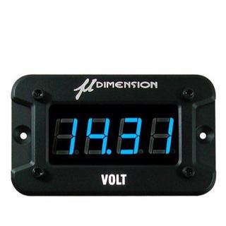 μ-DIMENSION デジタルボルトメーター 美品 値引済