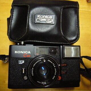 受付一時中止です。超美品中古カメラ!名機「ピッカリ!コニカ」実働品