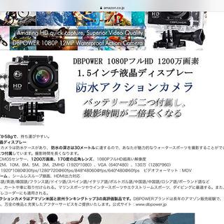昔買ったアクションカメラ