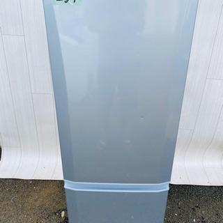 257番 三菱 ✨ノンフロン冷凍冷蔵庫❄️MR-P17T-S‼️