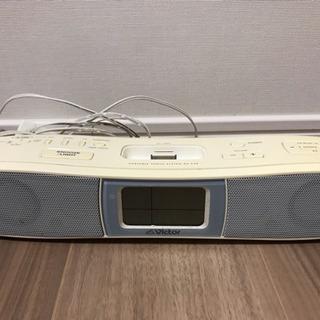 iPod オーディオスピーカー ラジオ付き