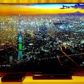 【無料】4K対応:65インチ・薄型液晶テレビ