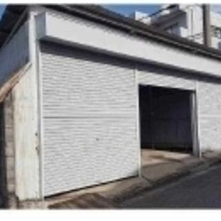 ★倉庫・シャッター付ガレージ★  池田市石橋 13㎡
