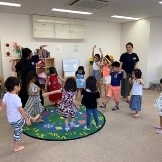子ども向け英語スクールのスタッフ募集!