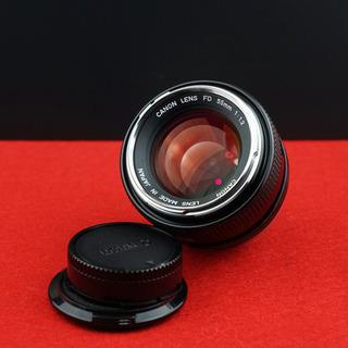 【希少銘玉】Canon  FD 55mm F1.2(動作確認済)