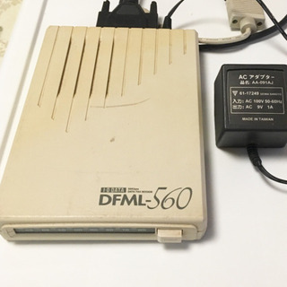 DFML-560    I・Oデータ ファックスモデム