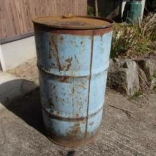 大きなドラム缶