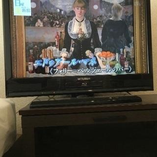 MITSUBISHI★43V型液晶テレビ★録画内蔵★Blu-ra...