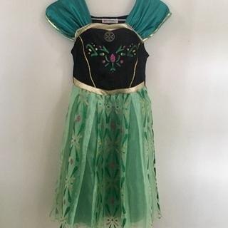 アナと雪の女王☆アナ・ドレス 130センチ