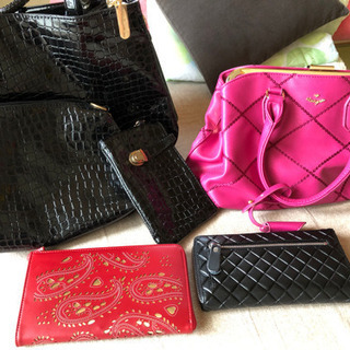 【値下げ中】新品未使用 財布 カバン