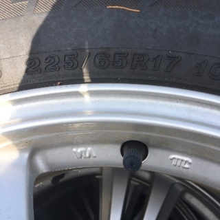 225/65R17(ホイル付き)