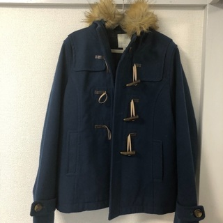 【取引確定】紺色のダッフルコート