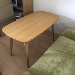 オーク材 ローテーブル 日本製 テーブル幅1000㎜
