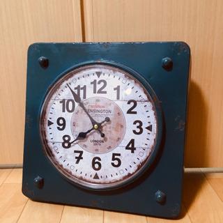 壁掛け時計 アンティーク風加工