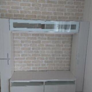 収納棚付きテレビボード55型まで