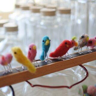 小鳥好きさん必見♥ことりハーバリウム