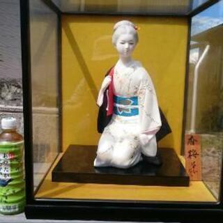 無料 美しい日本人形 陶器製