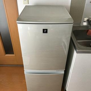 シャープ 冷蔵庫 SJ-PD14X 2013年製
