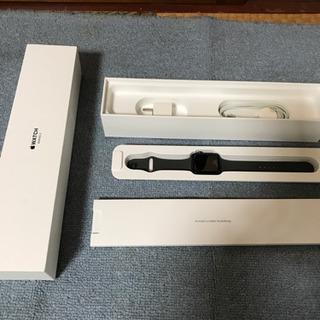 アップルウォッチ シリーズ3 アルミケース 42ミリ 美品