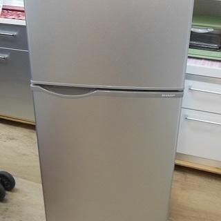 SHARP 2ドア 118L 冷凍冷蔵庫 SJ-H12Y 201...