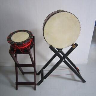 琉球太鼓セット バチ2本付