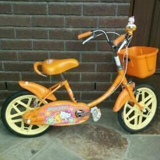 【お値下げ】女の子用こども自転車ブリヂストン 16インチ ハロー...