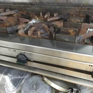 タニコー ガステーブル ガス台 3口