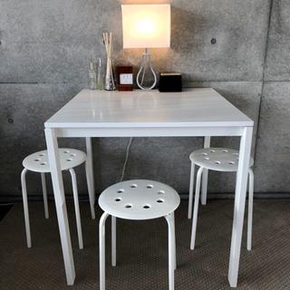【椅子4脚✨】IKEA スツール