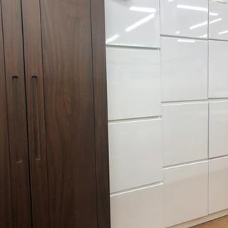 食器棚 壁面収納 キッチン収納 キッチンボード 1列x4段 [幅46]