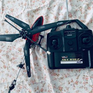 決まりました[¥300譲ります]RCヘリコプター スカイウルフ ...