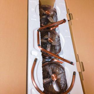 3連タワー型メタルボックス扇風機