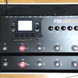 マルチエフェクターLINE6 POD HD500X&BOSS F...
