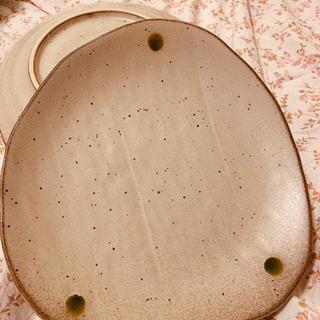 焼物ペアパスタ皿2枚 お箸二点