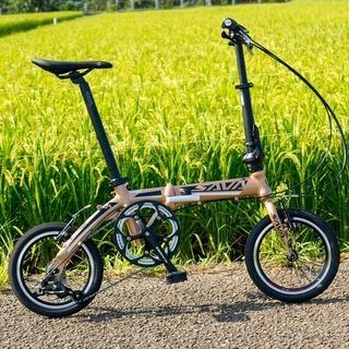 DAHON OEM 14inh折り畳み自転車3段変速