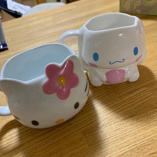 キティちゃんとシナモンのマグカップ