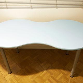 【直接引取優先】イケア IKEA 水色のテーブル