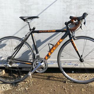 TREK ロードバイク カーボン アルミ 艶無しブラック×オレンジ