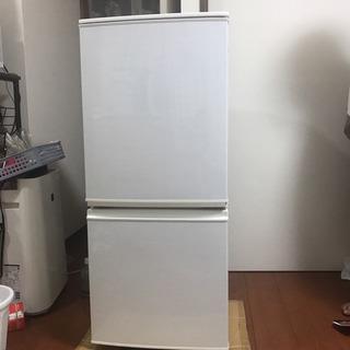 SHARP 冷蔵庫 137L 10/14 1000円