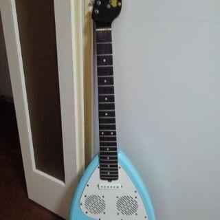 アンプ内蔵エレキギター 弦、ストラップなし ギターケース(ソフト...