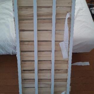 4つ折り桐すのこベッド シングルサイズ