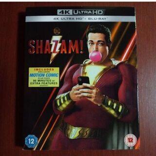シャザム! 4K ULTRA HD Blu-ray 日本語収録アリ