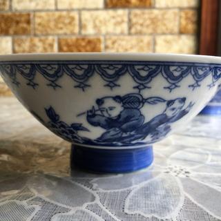 中華柄 茶碗 25個セット